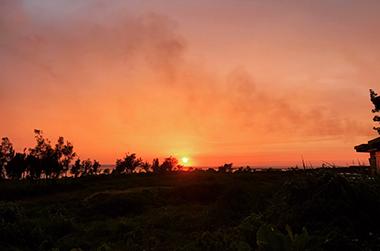 宮古島海洋散骨の魅力 IMAGE04(宮古島の夕暮れ 画像)